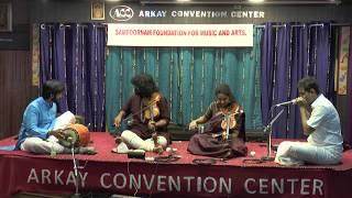 Sampoornam Foundations For Music and Arts-K.J.Dileep & Sangeetha Dileep Violin Duet