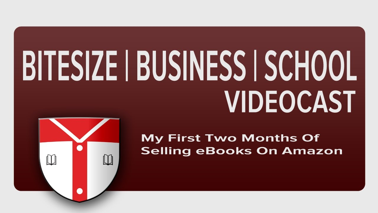 My First Two Months Of Selling Ebooks (kindle) On Amazon