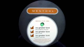 Noel Sanger Presents Westbrook Project ‎-- No Greater Love (Holy Symphony Vocal Mix)