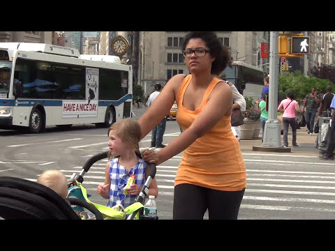 23rd Street, Broadway, and Fifth Avenue in Manhattan New York