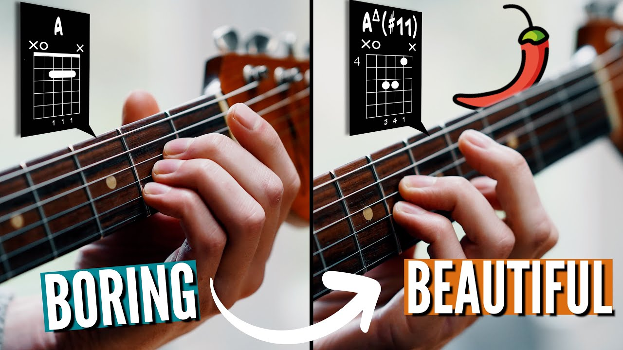 BEAUTIFUL SPICY CHORDS everyone should know
