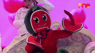 Good Kisser - ဖရဲသီး (Watermelon Mask) | The Mask Singer Myanmar | EP.9 | 10 Jan 2020