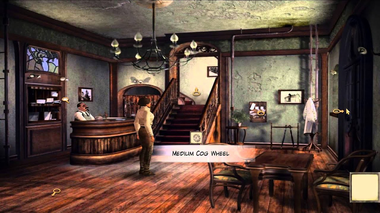 Syberia 1 walkthrough (android) - Part 01 : The Notary