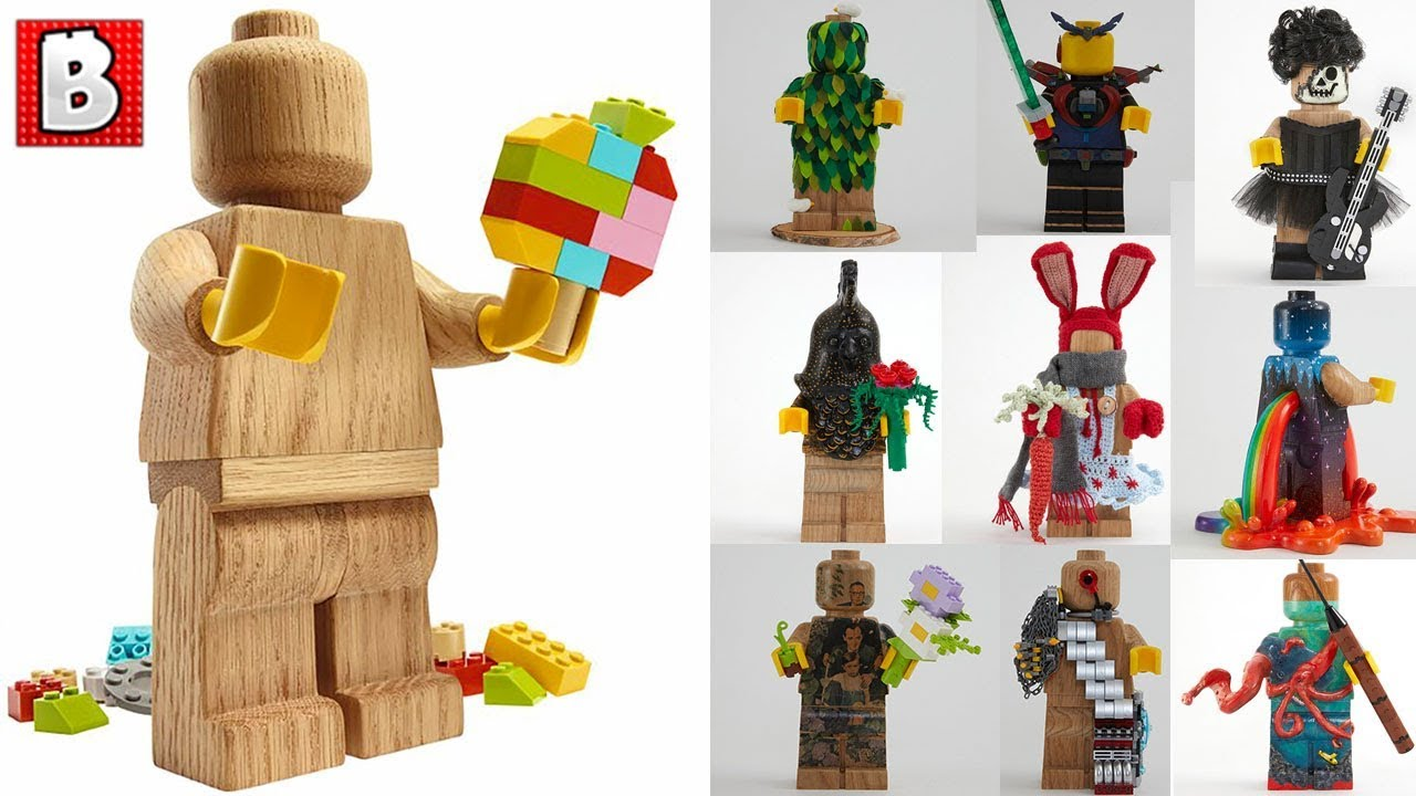 The Wooden LEGO Minifigure is coming! How would you customize it? | LEGO News