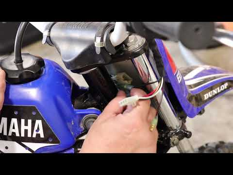 Yamaha PW50 Throttle Housing Replacement