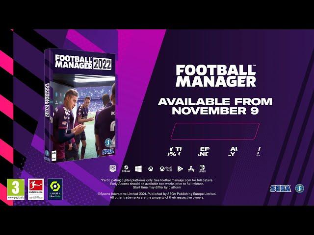 Football Manager 2022 (видео)