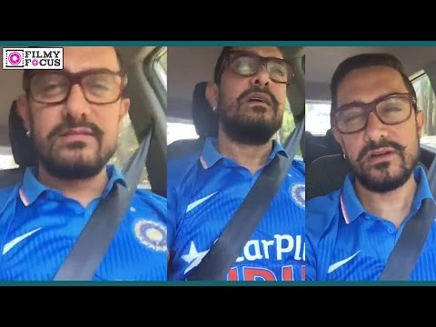 Aamir Khan Had To Say In His Very First Selfie Video -Bollyw