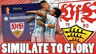 ARGENTINISCHES DUO !! 🔥 BARCELONA ZEHNER ?! 😱 | FIFA 18 STUTTGART SIMULATE TO GLORY #3 🔥 | DEUTSCH