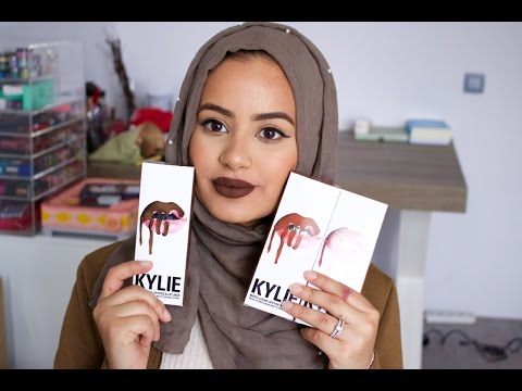 KYLIE JENNER LIPKIT : WORTH IT? REVIEW + SWATCHES!