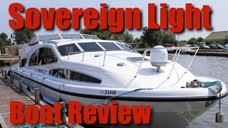 Norfolk Broads - Herbert Woods - Sovereign Light, 4 to 6 Berth Boat, Review - The Broads TV