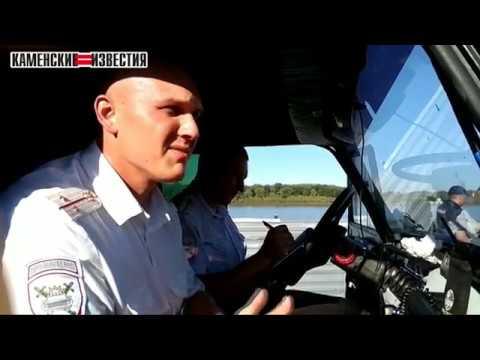 Скрываясь от погони полицейских житель Камня угодил в реку Обь на автомобиле