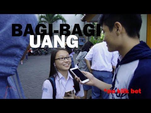 BAGI-BAGI UANG: no speak prank!!! #NoKlikBet
