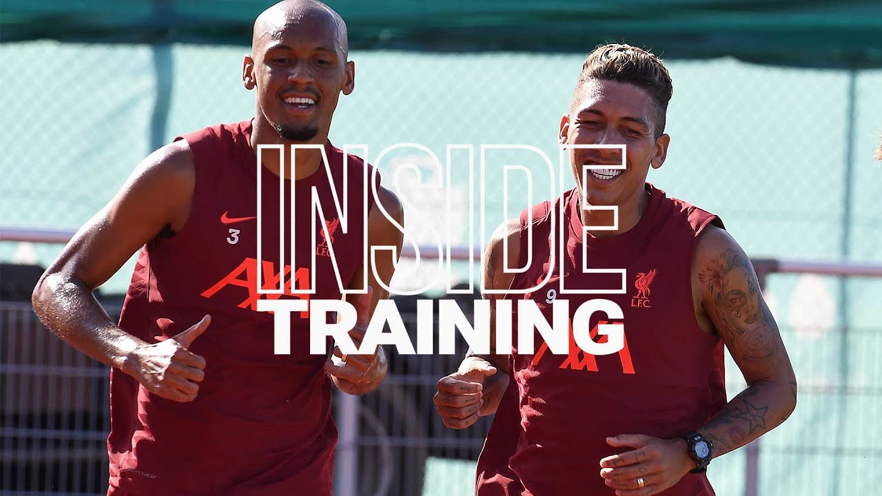 Inside Training: Passing, pressing, goals and counters - YouTube