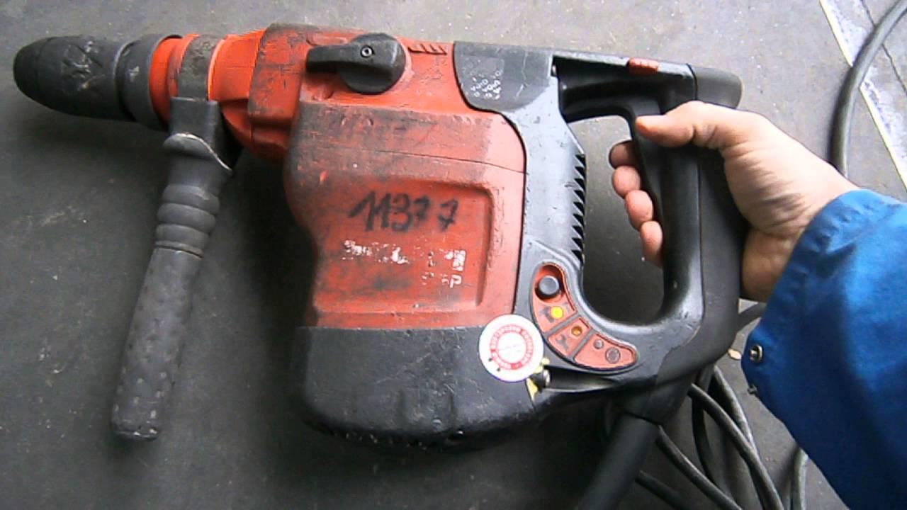 młot kująco-wiercący hilti te-76 2007r. prod.( 11377 ) - youtube