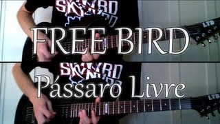 Lynyrd Skynyrd - Free Bird (guitar cover) (full version)