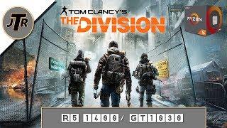 GT 1030/ R5 1400- The Division- Medium- 1080p