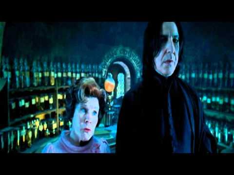 Severus Piton colpisce Weasley
