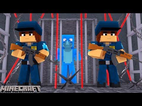 THE WORLDS WEIRDEST PRISON ESCAPE !! Minecraft w/ Sharky