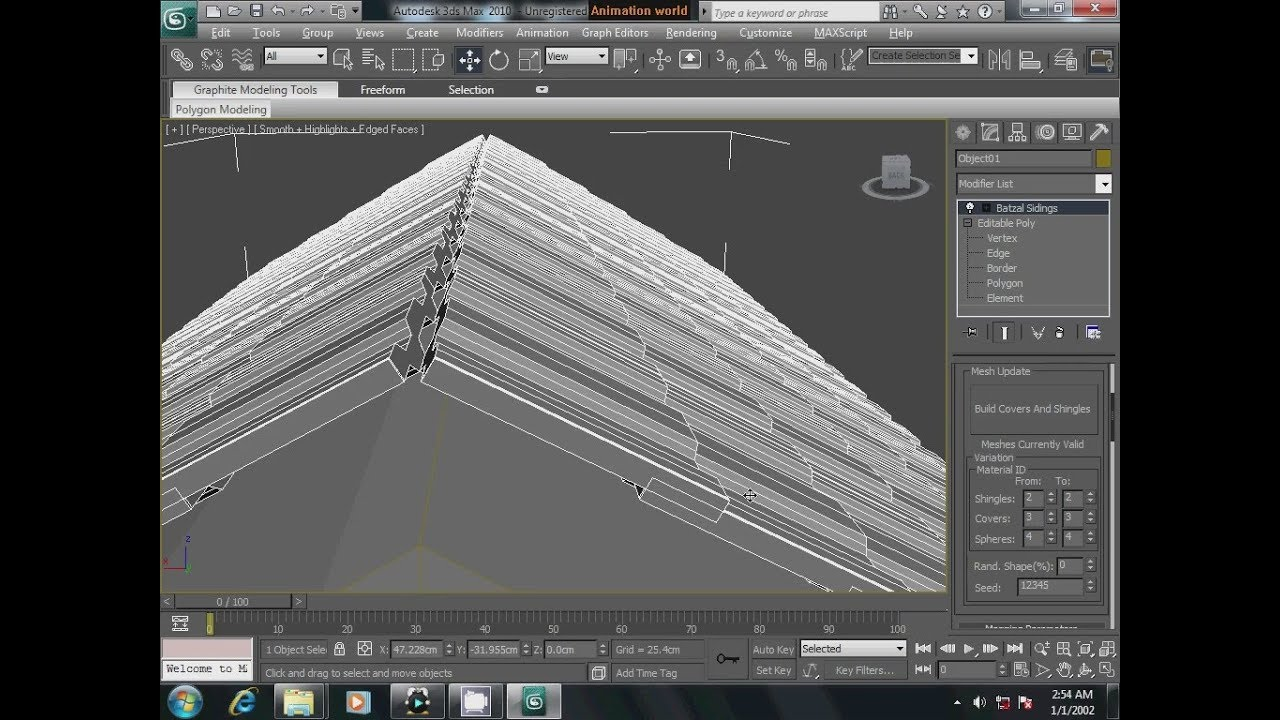 3ds Max Batzal Roof Tile Plugins Instal And Useing Youtube