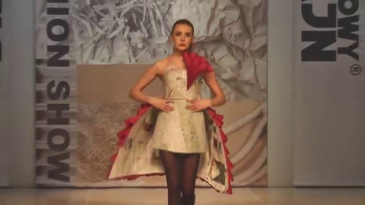 Junk Fashion Show 2016 Grupa Słowacka Youtube
