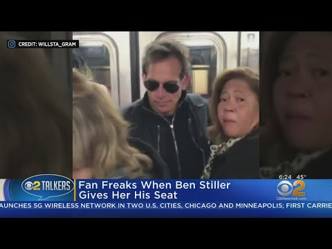 Rich Kaminski - Ben Stiller On The New York City Subway