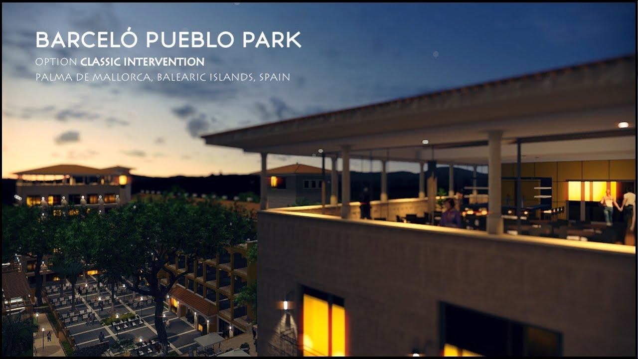 Mallorca Playa De Palma Hotel Barcelo Pueblo Park