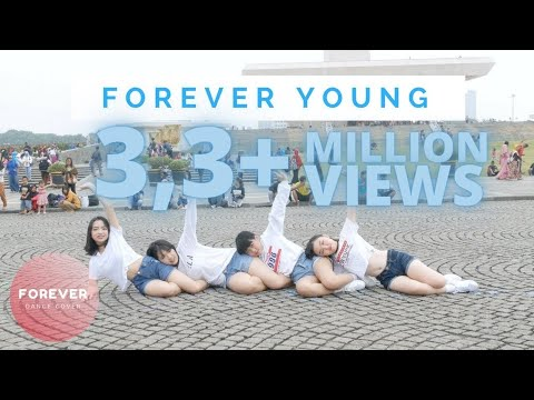 BLACKPINK FOREVER YOUNG DANCE COVER in PUBLIC INDONESIA