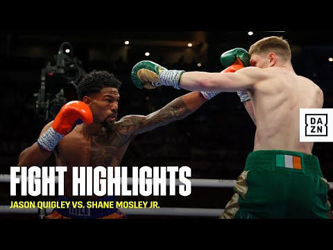 FIGHT HIGHLIGHTS | Jason Quigley vs. Shane Mosley Jr.