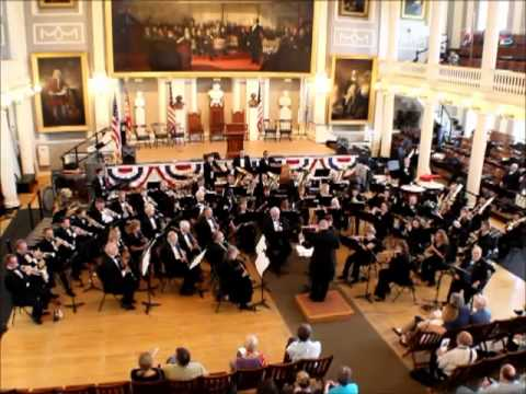 The Hanover Wind Symphony Silver Jubilee March - John Centenaro