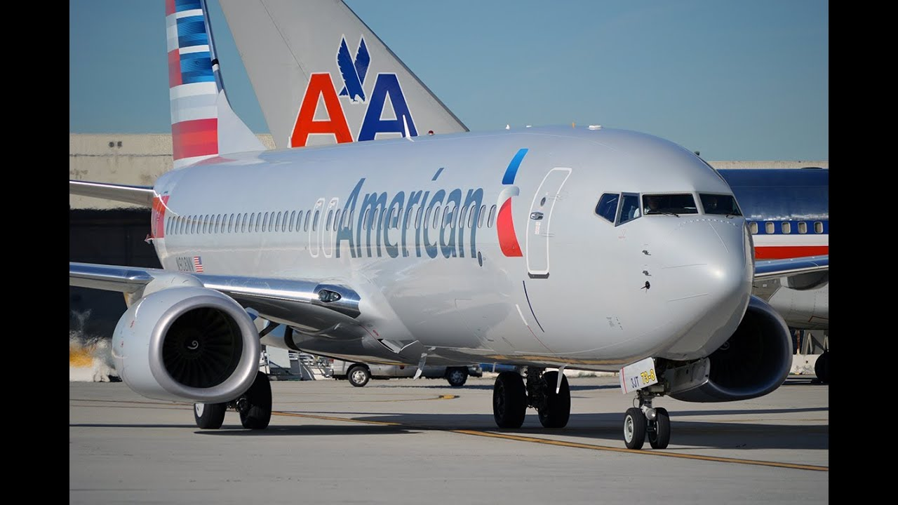 The NEW American Airlines at Los Angeles International ...