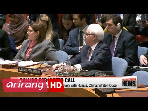 NEWSLINE AT NOON 12:00 UNSC convenes emergency meeting in response to N. Korea's missile launch