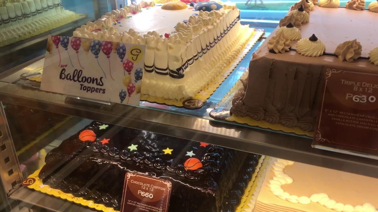 Goldilocks 2 Cake Price Layer