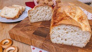 Самый простой рецепт домашнего хлеба в духовке без замеса