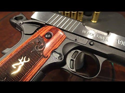 Browning 1911-380 Black Label Medallion Pro - Браунинг 1911-380, игрушка или оружие