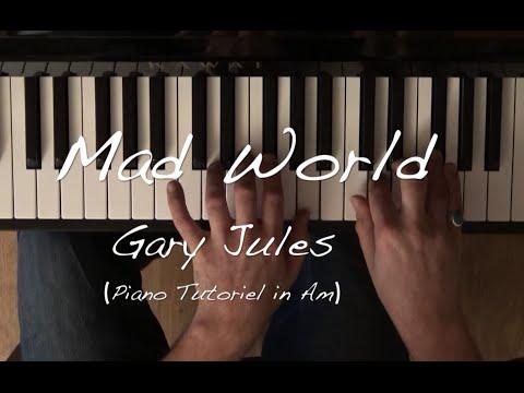 Mad World (Gary Jules) - Tuto piano facile