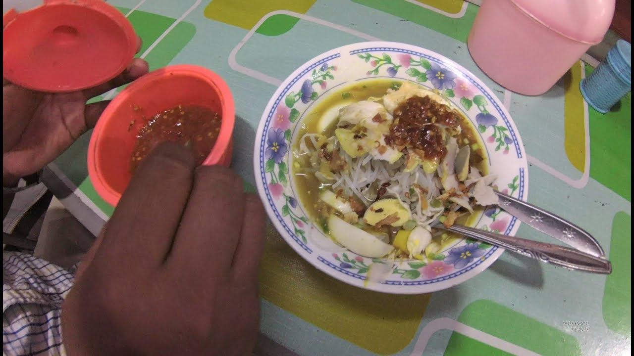 Indonesia Lamongan Street Food 3071 Nasi Soto Abriel Lavega Sentra