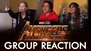 Avengers: Infinity War (First Trailer) - GROUP REACTION