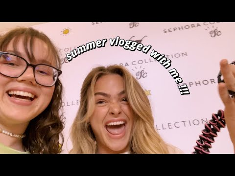 MEETING SUMMER MCKEEN (SHE VLOGGED WITH ME) thumbnail