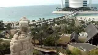 Burj al Arab & Wild Wadi water park.
