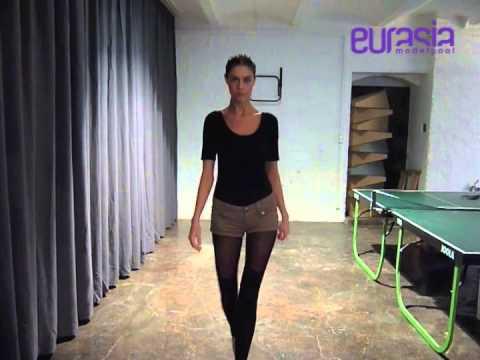 Karolina Pufelska Casting video catwalk