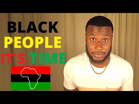 Why all black people should move to Africa