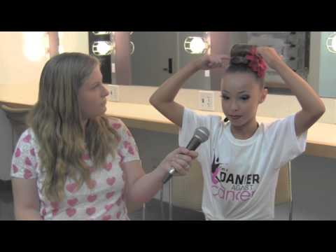 Dancing Sensation Sophia Lucia Interview at Rainbow Dance Competition
