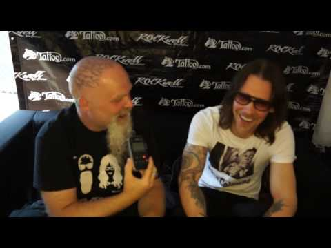 Rockwell Unscene - Interview with Myles Kennedy at Louder Than Life