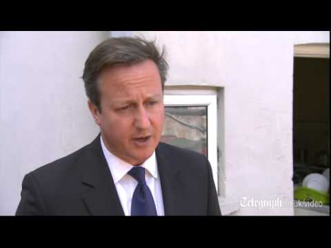 David Cameron calls for unconditional immediate ceasefire in Gaza