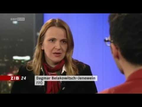 Türken: Wir kommen! - Dagmar Belakowitsch-Jenewein (FPÖ), Inan Türkmen, ZiB 24 vom 1.3.2012