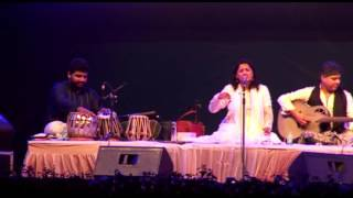 Sufi singer kavita seth - piya mora piya - at 20th national youth festival 2016