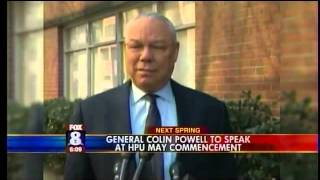 High Point University Announces General Colin Powell as 2014 Commencement Speaker