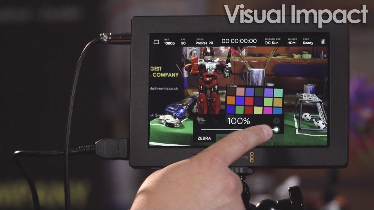 Blackmagic Video Assist Firmware 2 3 Adds Lut Support And False Colour Visual Impact Blog