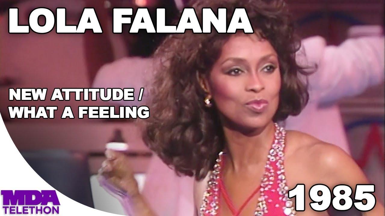"Download Lola Falana - ""New Attitude"" & ""What A Feeling"" (1985) - MDA Telethon"