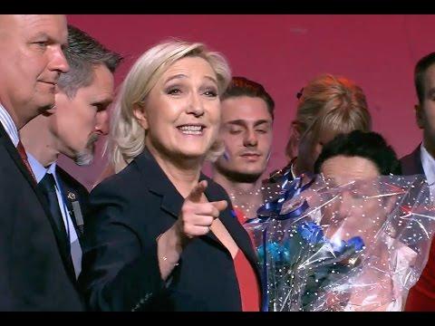 Discours de Marine Le Pen à Marseille - Présidentielles 2017.